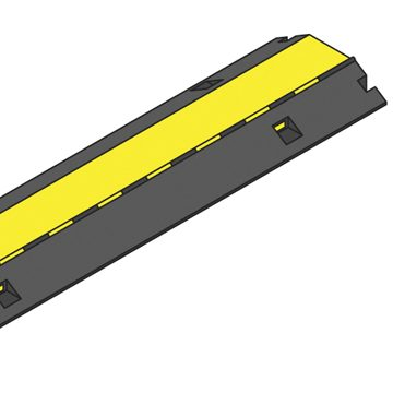yellow lidded ramp