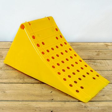 hgv yellow plastic chock