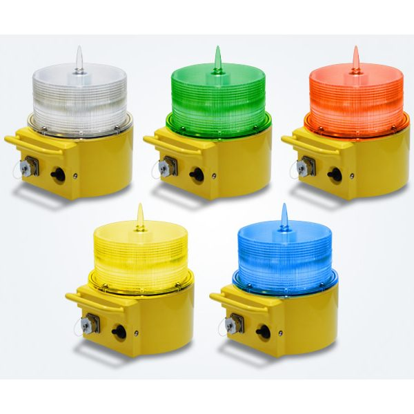 coloured portable airfield lighting