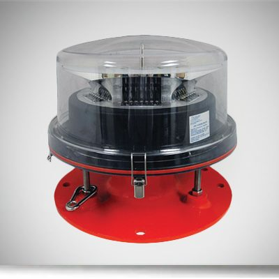 red led beacon with medium intensity
