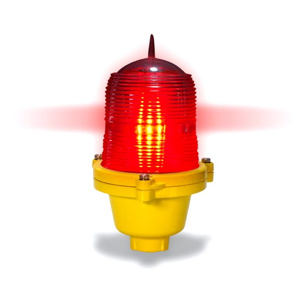 red led based low intensity obstruction light