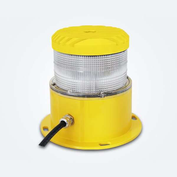 yellow led based medium intensity obstruction light