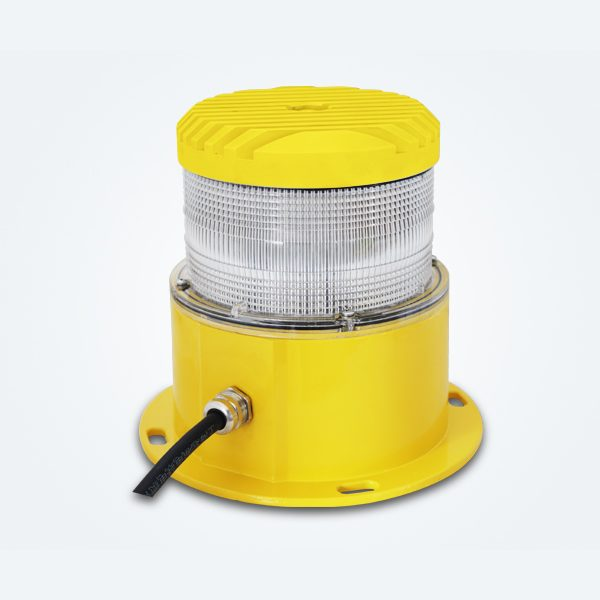 yellow led based medium intensity obstruction lighting