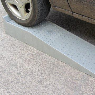 grey access ramp