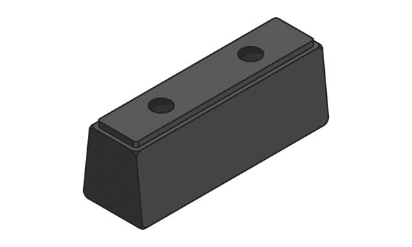 black hgv bumper