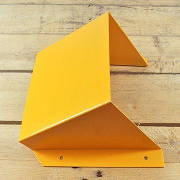 yellow hgv chock holder