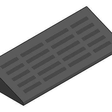 black kerb ramp