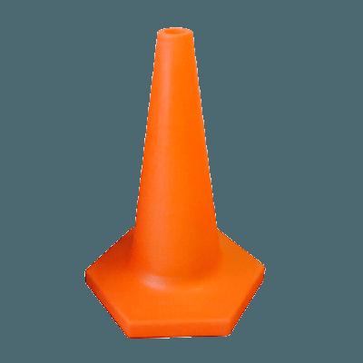 orange heavy duty traffic cone