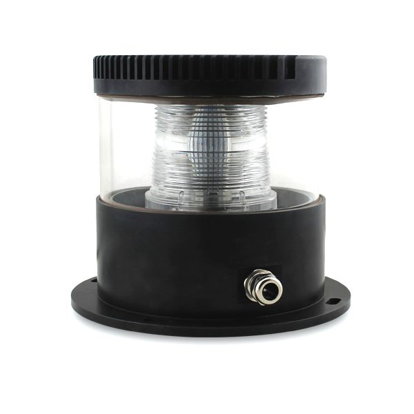 led medium intensity red obstruction light