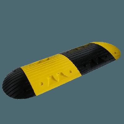 interlocking yellow speed ramp