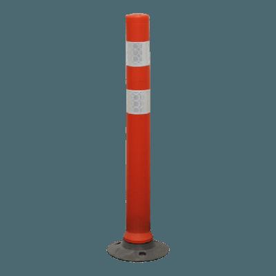 large orange cylinder