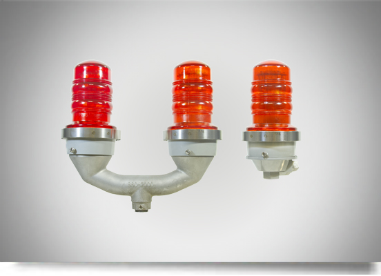 red obstruction lights