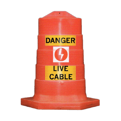 orange live cable cover