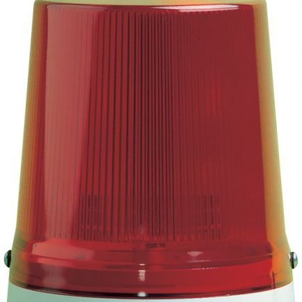 red beacon light