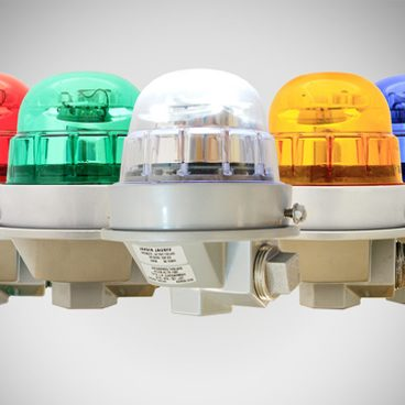 coloured signal lights
