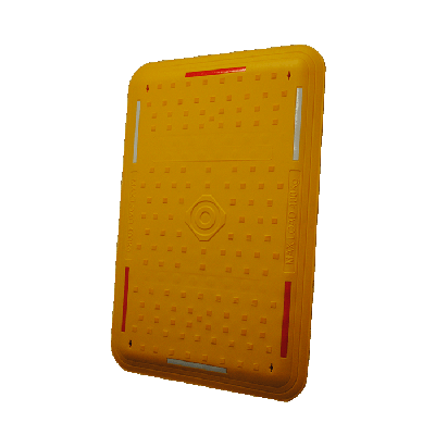 yellow trench cover