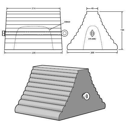 pyramid hollow chock