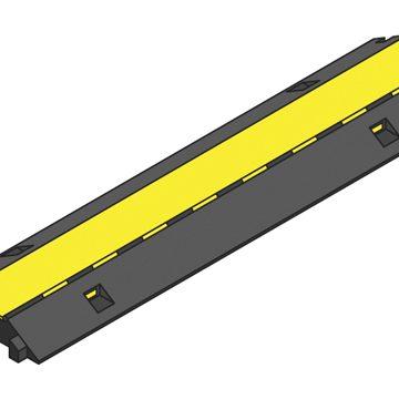 black yellow lidded ramp