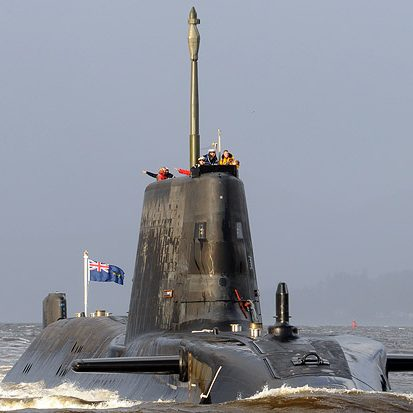 black submarine