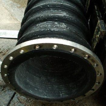 black dredging hose