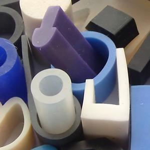 coloured flame retardant rubber