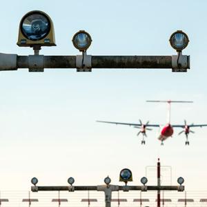plane landing strip