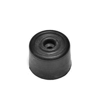 black rubber buffer
