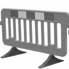 plastic safety barriers