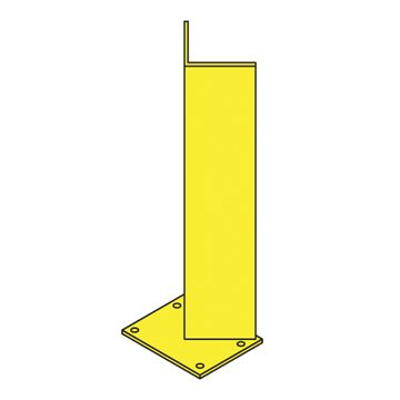 yellow racking base protector