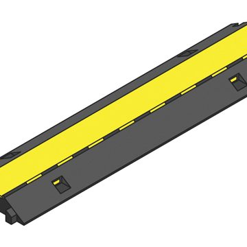 black yellow lidded ramp