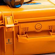 orange outdoor work case